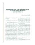 Định hướng chính trị cho sự phát triển văn hóa Việt Nam giai đoạn 2011 - 2020 qua văn kiện Đảng và một số vấn đề đặt ra
