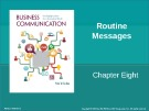 Lecture Business communication: Developing leaders for a networked world: Chapter 8 - Peter W. Cardon