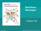 Lecture Business communication: Developing leaders for a networked world: Chapter 10 - Peter W. Cardon