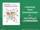 Lecture Business communication: Developing leaders for a networked world: Chapter 3 - Peter W. Cardon