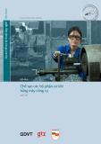 Chương trình Mô đun đào tạo nghề Cơ điện tử - MD 02: Chế tạo các bộ phận cơ khí bằng máy