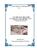 Tài liệu đào tạo nghề Kỹ thuật nuôi và phòng trị bệnh cho lợn đối với khu vực đồng bằng - Trường TH NN&PTNT Quảng Trị