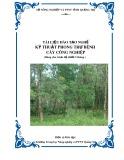 Tài liệu đào tạo nghề Kỹ thuật phòng trừ bệnh cây công nghiệp - Trường TH NN&PTNT Quảng Trị