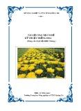 Tài liệu đào tạo nghề Kỹ thuật trồng hoa - Trường TH NN&PTNT Quảng Trị