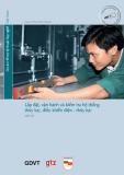 Chương trình Mô đun đào tạo nghề Cơ điện tử - MD 07: Lắp đặt, vận hành và kiểm tra hệ thống thủy lực, điều khiển điện – thủy lực
