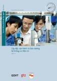 Chương trình Mô đun đào tạo nghề Cơ điện tử - MD 11: Lắp đặt, vận hành và bảo dưỡng hệ thống cơ điện tử