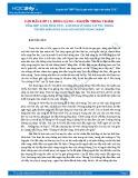 Tổng hợp 10 bài phân tích - Cảm nhận về nhân vật Tnú trong truyện ngắn Rừng xà nu của Nguyễn Trung Thành