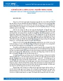 Tổng hợp 4 bài văn phân tích truyện ngắn Rừng xà nu của Nguyễn Trung Thành