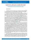 Tổng hợp 6 bài phân tích hình tượng đôi bàn tay Tnú trong tác phẩm Rừng xà nu của Nguyễn Trung Thành