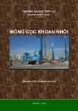 Bài giảng Móng cọc khoan nhồi - PGS. TS Nguyễn Hữu Thái