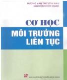 Ebook Cơ học môi trường liên tục: Phần 2 - Dương Văn Thứ (chủ biên)