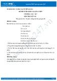 Đề thi tuyển sinh vào lớp 10 môn Ngữ văn - Sở GD&ĐT Tuyên Quang