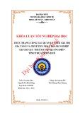 Khóa luận tốt nghiệp: Thực trạng công tác quản lý thuế giá trị gia tăng và thuế thu nhập doanh nghiệp tại Chi cục thuế huyện Quảng Điền