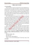 Khóa luận tốt nghiệp: Công tác kế toán nguyên vật liệu, công cụ dụng cụ tại Công ty Cổ phần dệt may Phú Hòa An – Huế