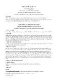 Tiêu chuẩn Quốc gia TCVN 7928:2008