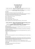 Tiêu chuẩn Quốc gia TCVN 7628-6:2007 - ISO 4190-6:1984