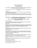 Tiêu chuẩn Việt Nam TCVN 7604:2007