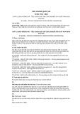 Tiêu chuẩn Quốc gia TCVN 7734:2007