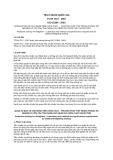 Tiêu chuẩn Quốc gia TCVN 7617:2007 - ISO 15384:2003