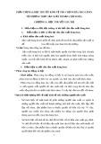 Phần thứ hai: Học thuyết kinh tế của chủ nghĩa Mác Lênin về phương thức sản xuất tư bản chủ nghĩa