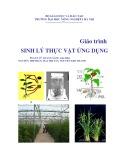 Giáo trình Sinh lý thực vật ứng dụng - Vũ Quang Sáng (Chủ biên)