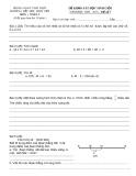 Đề khảo sát học sinh giỏi môn Toán lớp 3 năm 2009-2010 - Phòng GD&ĐT Thái Thụy (Đề số 7)
