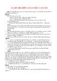 Tài liệu bồi dưỡng Sinh 10 phần Vi sinh vật