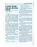 Xe thổ mộ - Một hiện tượng giao lưu văn hóa ở Nam bộ
