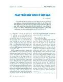 Phát triển bền vững ở Việt Nam - Vũ Văn Hiền