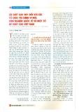 Lãi suất cho vay đối với các tổ chức tài chính vi mô: Kinh nghiệm quốc tế và một số đề xuất cho Việt Nam