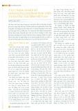 Thực trạng và một số định hướng, giải pháp phát triển thị trường tài chính Việt Nam