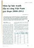 Nhìn lại bức tranh đầu tư công Việt Nam giai đoạn 2000 - 2012