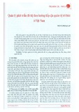 Quản lý phát triển đô thị theo hướng tiếp cận quản trị tri thức ở Việt Nam