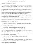Một vài cách nhớ các công thức lượng giác
