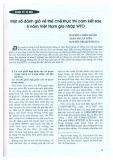 Một số đánh giá về thể chế thực thi cam kết sau 5 năm Việt Nam gia nhập WTO