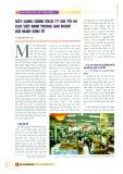Xây dựng chính sách tỷ giá tối ưu cho Việt Nam trong giai đoạn hội nhập kinh tế