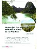 Thích ứng và giảm nhẹ biến đổi khí hậu đối với Việt Nam