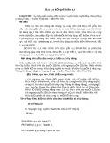 Báo cáo kết quả khảo sát: Xây dựng tuyến mương tưới, tiêu khu 5 (tuyến từ nhà ông Thưởng đi Bóng Hồng) xã Hoàng Cương – huyện Thanh Ba – tỉnh Phú Thọ