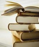 Nghiên cứu khoa học sư phạm ứng dụng: Sơ đồ hóa kiến thức một số phần chương sinh sản lớp 11 nhằm nâng cao kết quả học tập