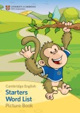 Ebook Starters Word List Picture Book