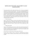 Hướng dẫn sử dụng đọc Analog Input và xuất Analog Output
