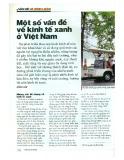 Một số vấn đề về kinh tế xanh ở Việt Nam
