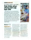 Hệ thống thuế ở Việt Nam: Cần khắc phục những bất cập hạn chế