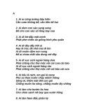 Những câu ca dao tục ngữ Việt Nam hay