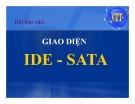 Bài thuyết trình Giao diện IDE - SATA