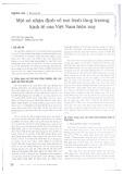 Một số nhận định về mô hình tăng trưởng kinh tế của Việt Nam hiện nay