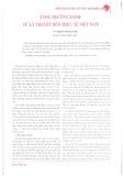Tăng trưởng xanh - Từ lý thuyết đến thực tế Việt Nam