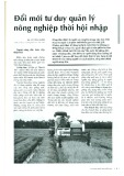 Đổi mới tư duy quản lý nông nghiệp thời hội nhập