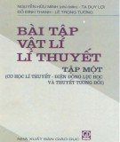 Ebook Bài tập Vật lý lý thuyết (Tập 1): Phần 1