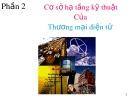 Bài giảng Nhập môn hệ thống thông tin - Bài 8: Cơ sở hạ tầng kỹ thuật của thương mại điện tử